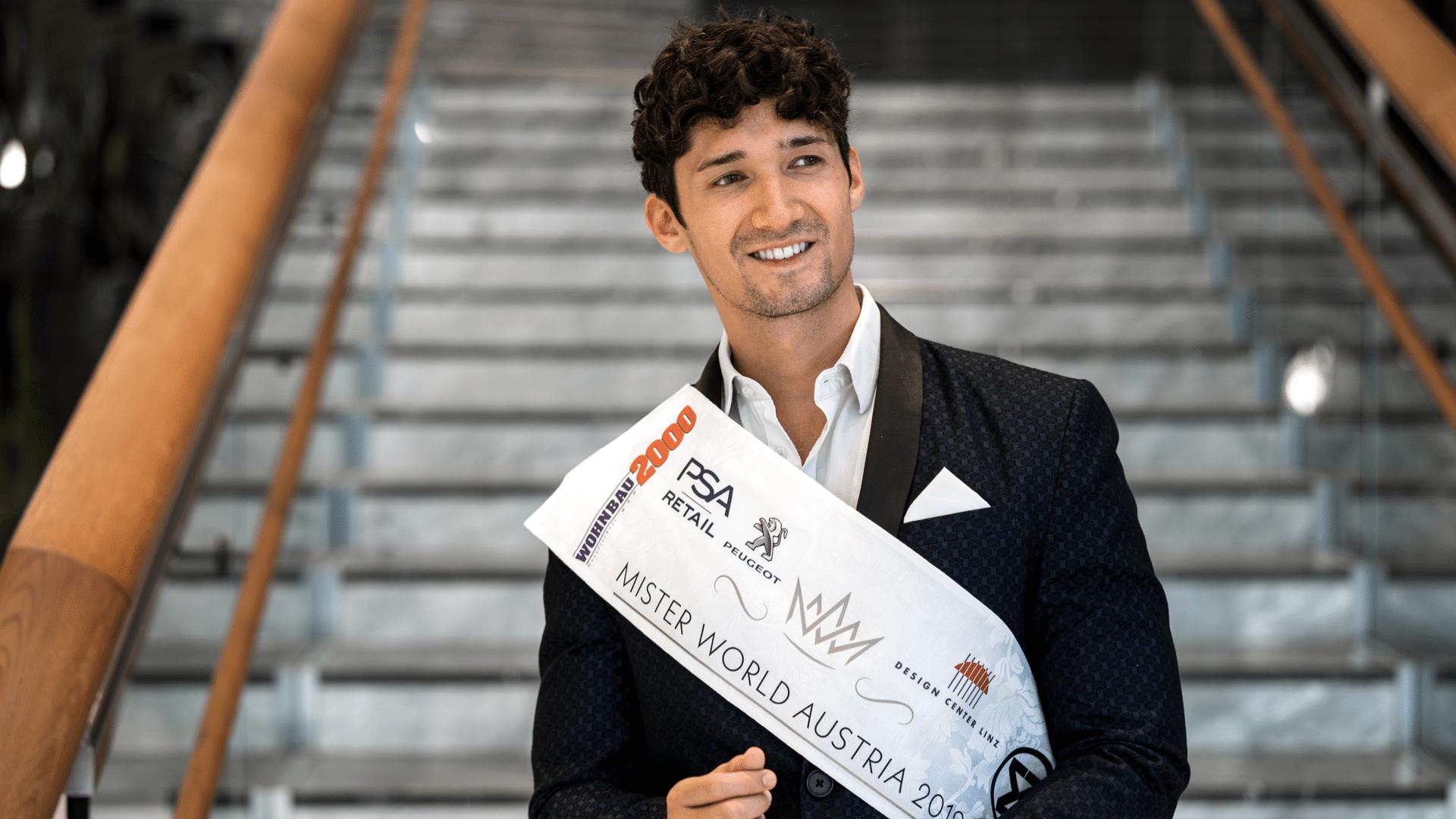 Alberto Nodale ist Mister World Europe Titelbild