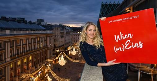 Miss Vienna 2019 unterstützt die Wiener Innenstadt